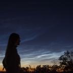 Űrbéli kékség